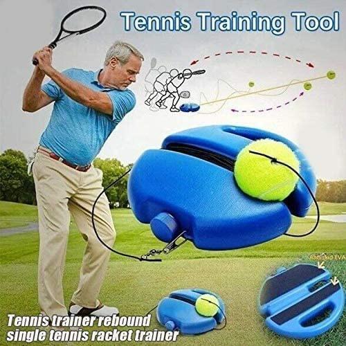 Golf - Tennis Training Tool Tennis trainer rebound single tennis racket trainer