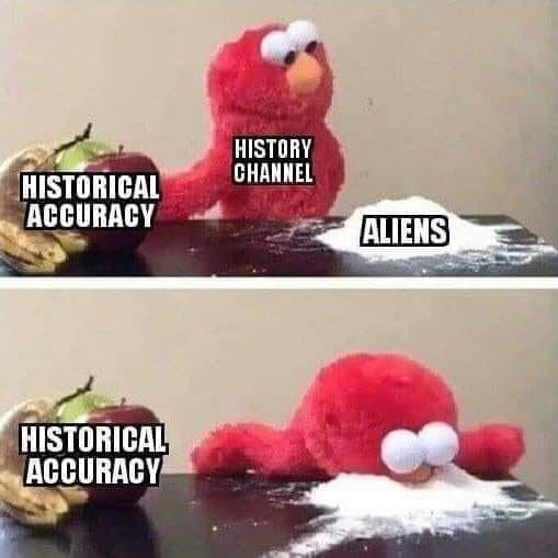 Plush - HISTORY CHANNEL HISTORICAL ACCURACY ALIENS HISTORICAL ACCURACY
