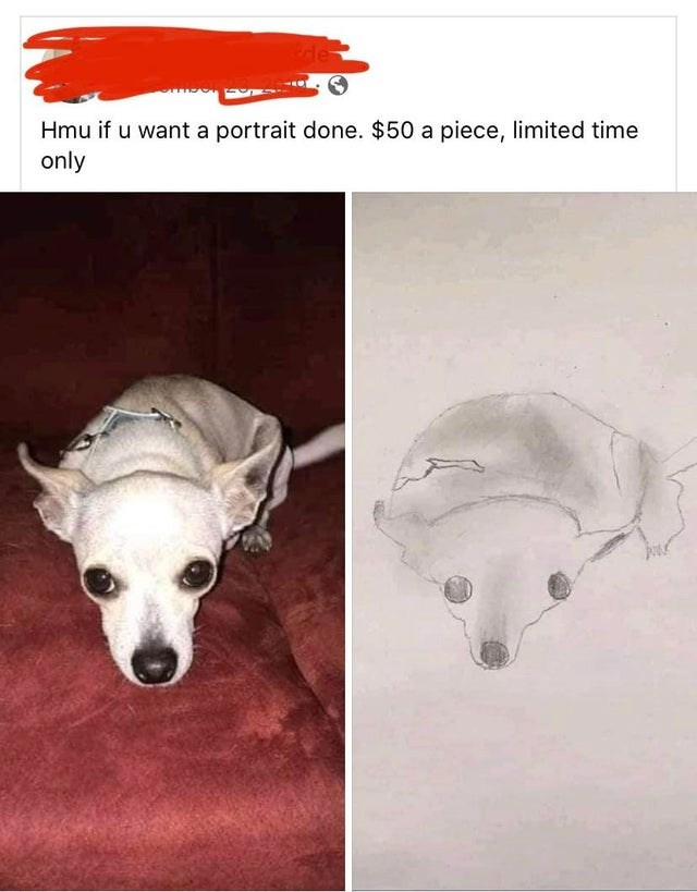 Whippet - Hmu if u want a portrait done. $50 a piece, limited time only