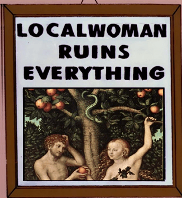 Poster - LOCALWOMAN RUINS EVERYTHING