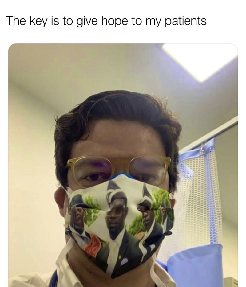 Face - The key is to give hope to my patients