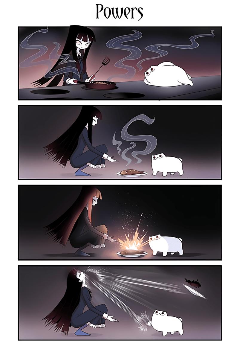 Cartoon - Powers