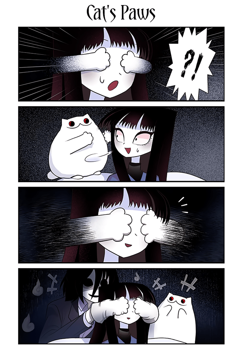 Cartoon - Cat's Paws