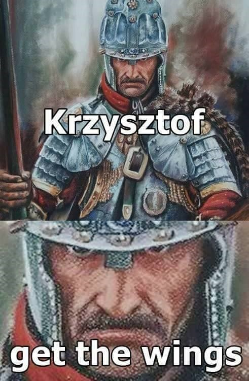 Poster - Krzysztof get the wings