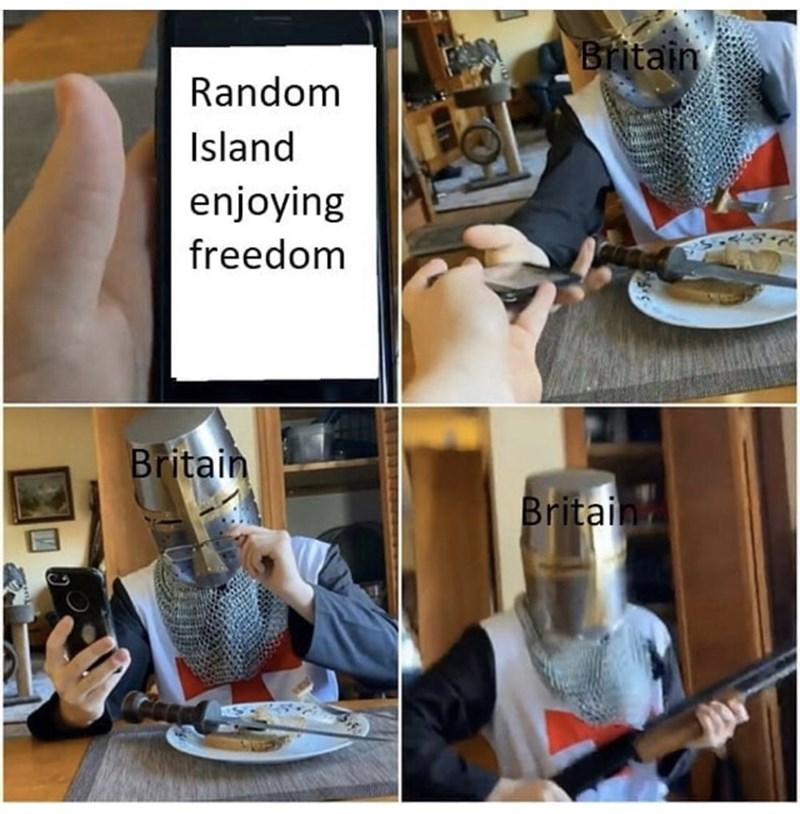 Table - Britain Random Island enjoying freedom Britain Britain