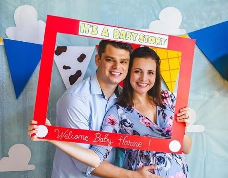 Snapshot - ITS A BABY STORY Welcome Baby Horine