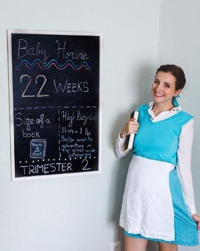 Blackboard - Baby Horine 22 WEEKS ige of a i Hiy higi book I1n-Ib Baby wants adventure in the great n de sme . TRIMESTER 2