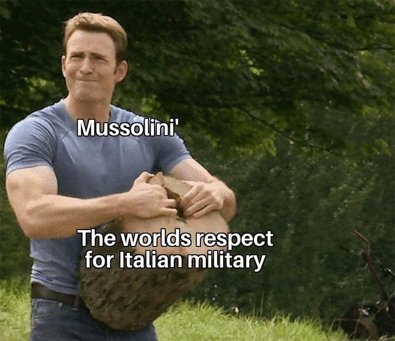 Arm - Mussolini The worlds respect for Italian military