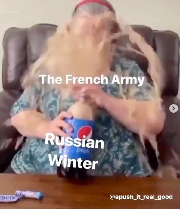 Facial hair - The French Army Russian Winter peps @apush_it_real_good