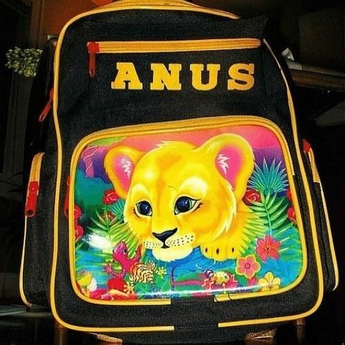 Yellow - ANUS