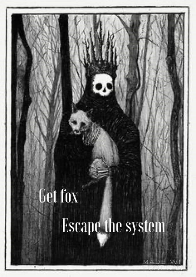Ghost - Get fox Escape the system MADE WI