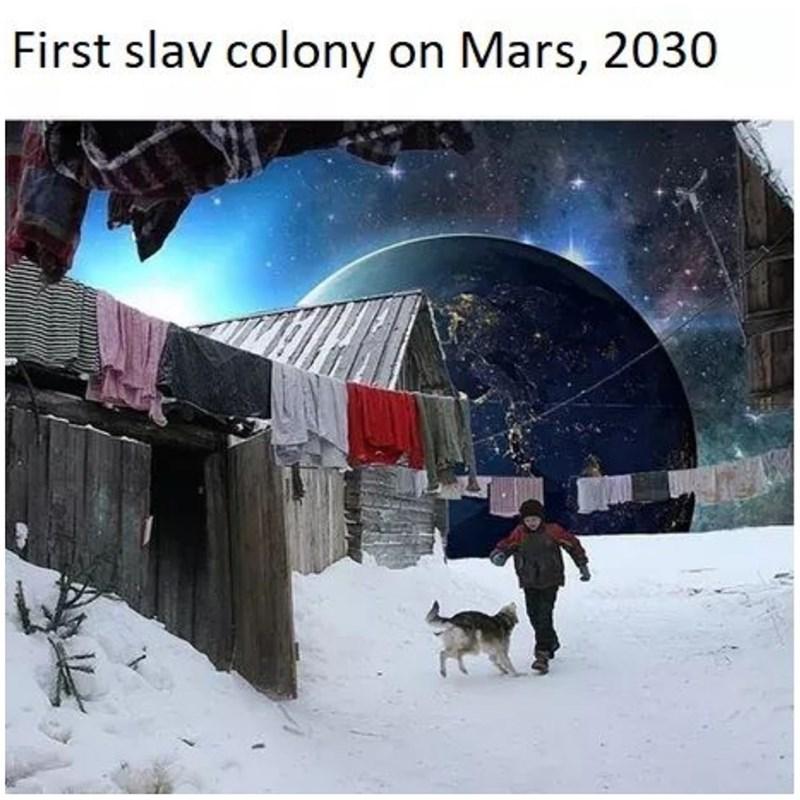 Snow - First slav colony on Mars, 2030