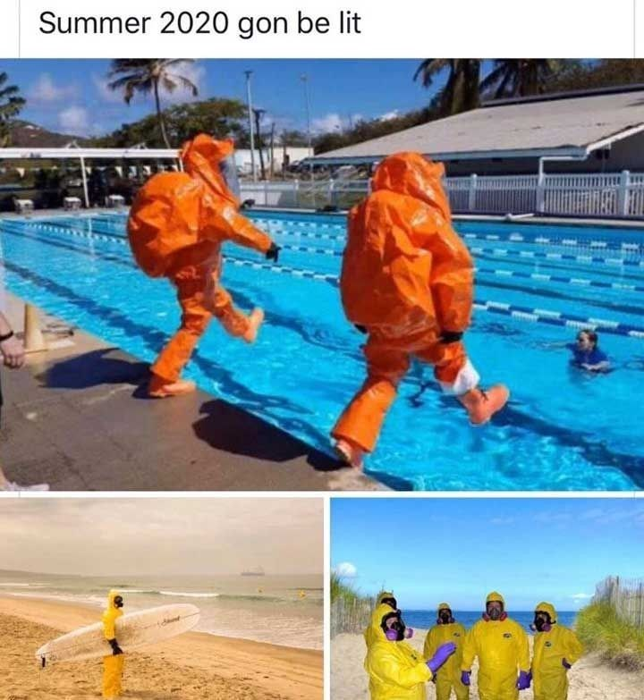 Swimming pool - Summer 2020 gon be lit