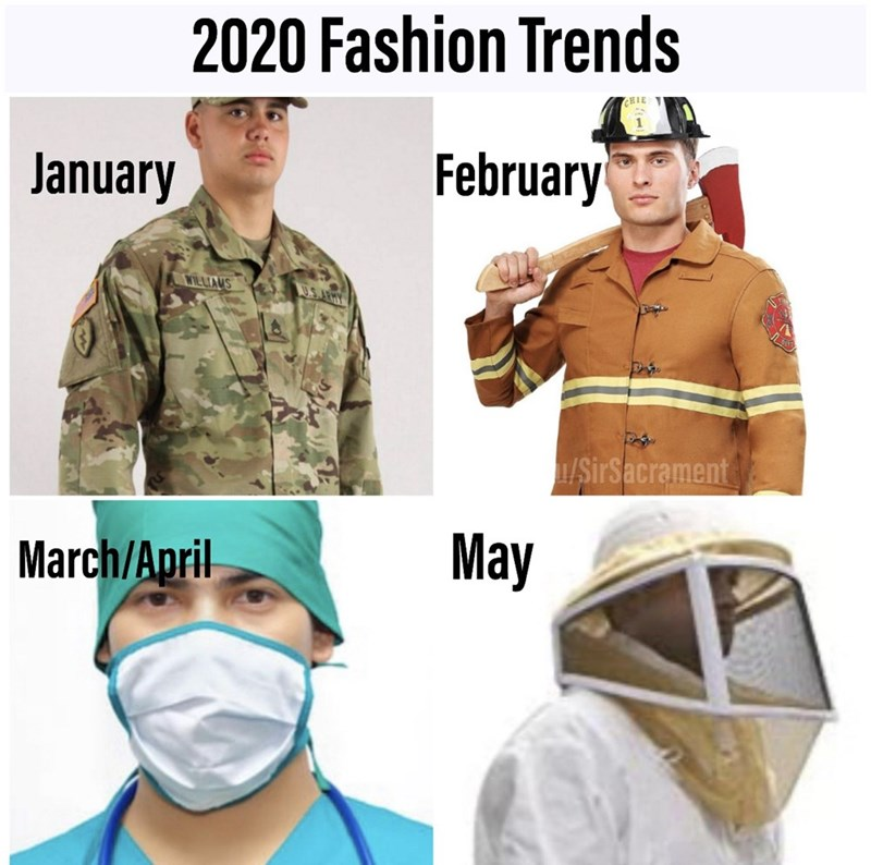 Helmet - 2020 Fashion Trends HIE January February WILLIAUS U.S.ARHY 1/SirSacrament March/April May