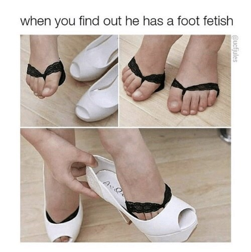 Footwear - when you find out he has a foot fetish @ucfjules