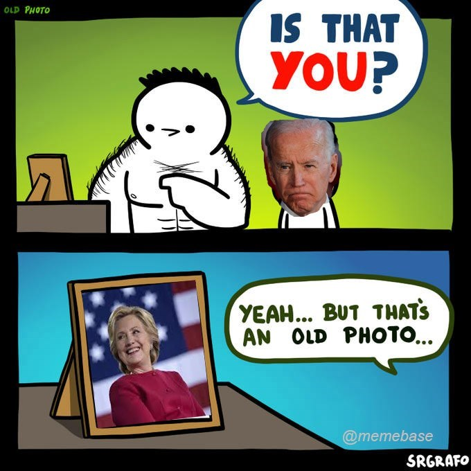 Cartoon - OLD PHOTO IS THAT YOU? YEAH... BUT THAT'S AN OLD PHOTO... @memebase SRGRAFO