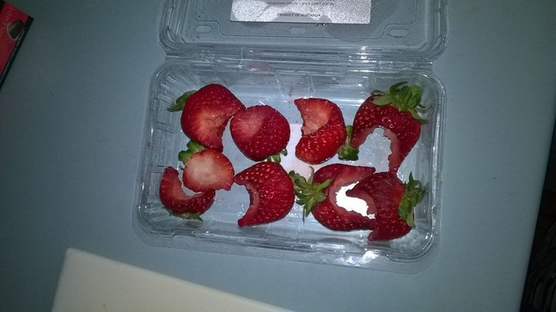 Strawberry - RODUCT OF AUSTRA