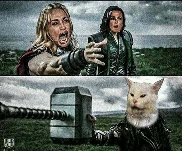 Cat - Dank YOU