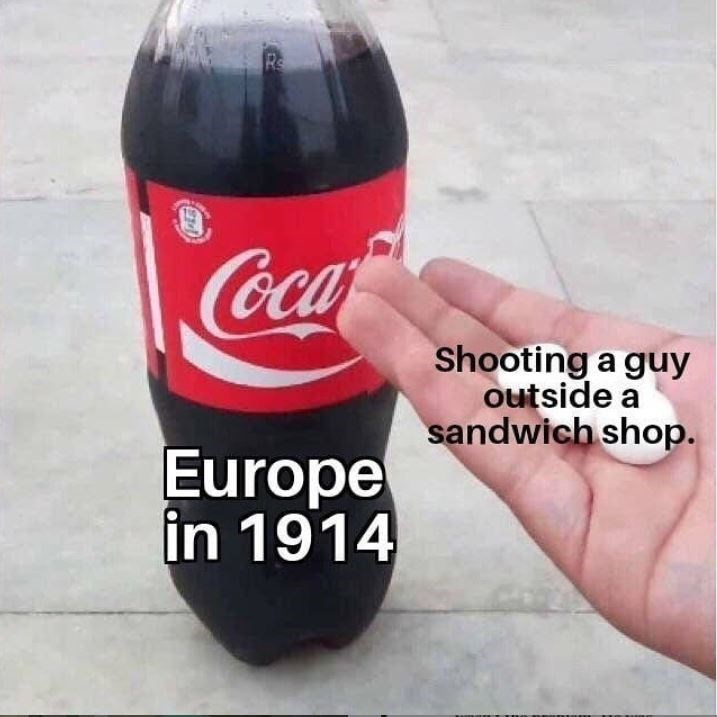 Coca-cola - Rs Coca- Shooting a guy outside a sandwich shop. Europe in 1914