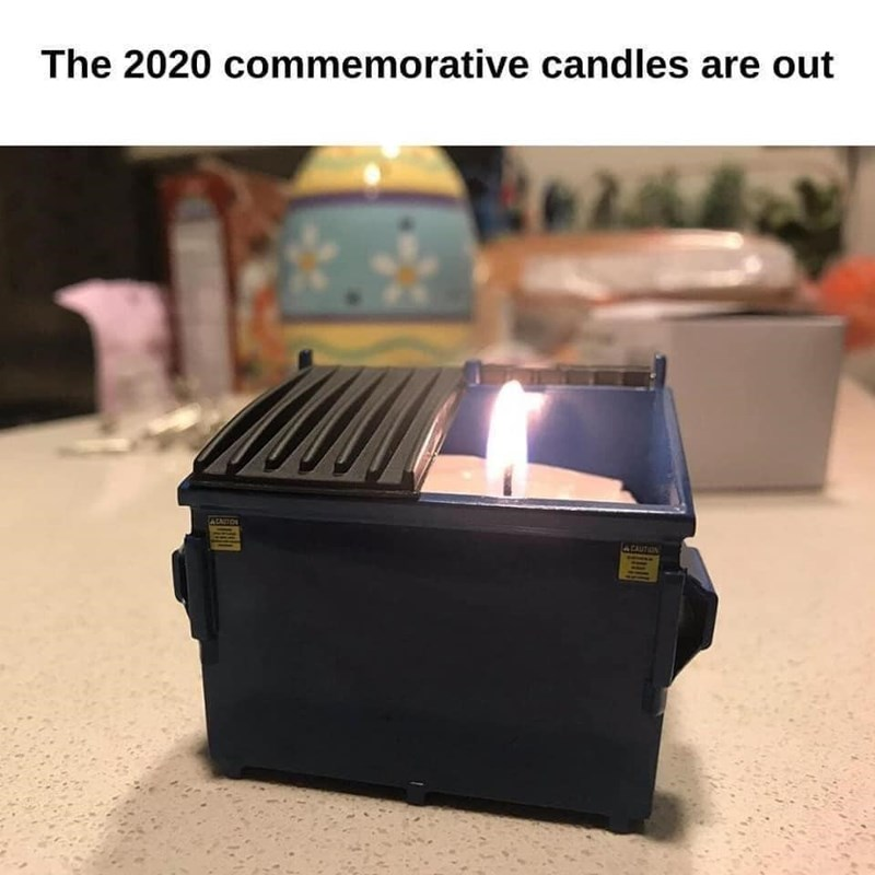 Product - The 2020 commemorative candles are out ALAUTON CAUTION