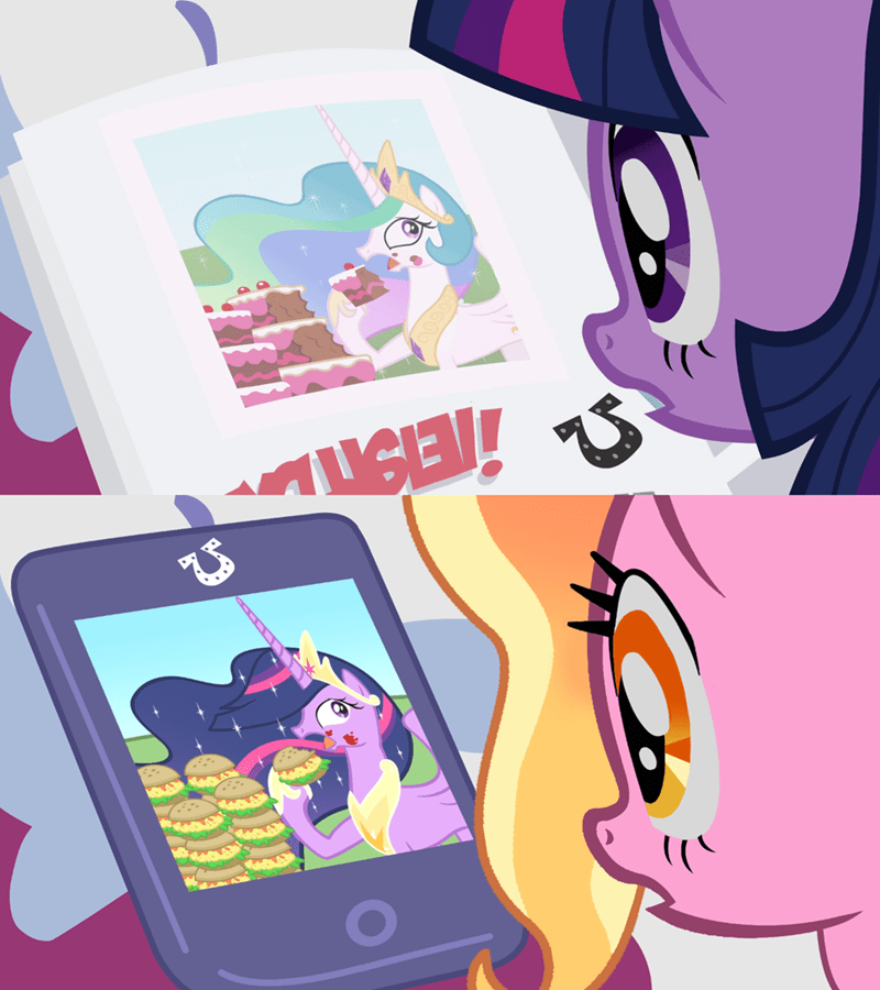 atariboy2600 twilight sparkle screencap ponyville confidential luster dawn princess celestia - 9483682048