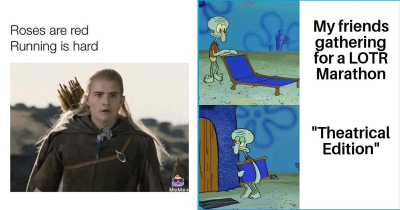 Funny memes, Tolkien memes, lord of the rings memes, jrr tolkien, dank memes, hobbits, gandalf.