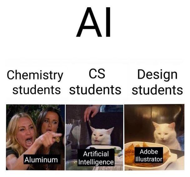 Face - AI Chemistry CS Design students students students Adobe Illustrator Artificial Aluminum Intelligence