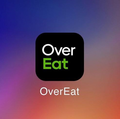 Text - Over Eat OverEat