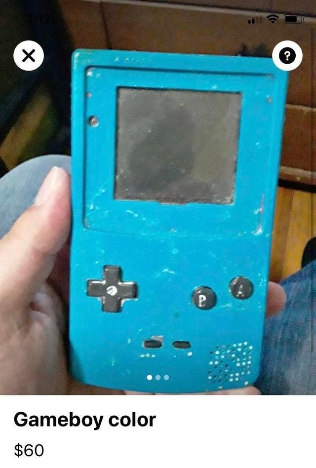 Gadget - ? Gameboy color $60