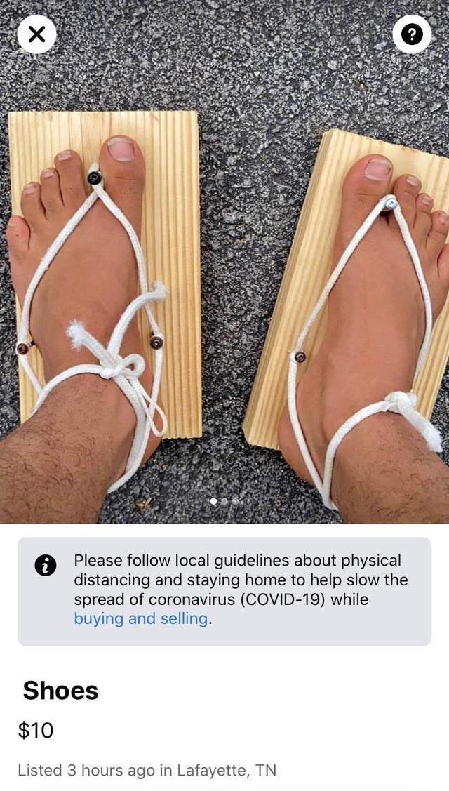 Footwear - Please follow local guidelines about physical distancing and staying home to help slow the spread of coronavirus (COVID-19) while buying and selling. Shoes $10 Listed 3 hours ago in Lafayette, TN