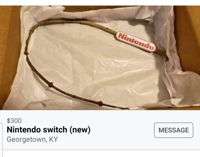 Product - Niniendo $300 MESSAGE Nintendo switch (new) Georgetown, KY