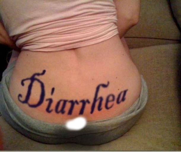Tattoo - Diarrhea