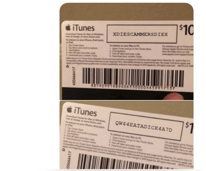 Magenta - $10 siTunes XDIESCAMMERSDIEX é iTunes $41 QW44EATADICK4A7D 400666417