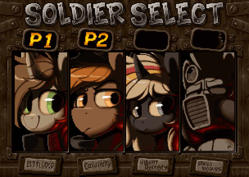 shinodage OC calamity velvet remedy fallout metal slug littlepip ponify fallout equestria steelhooves - 9486124032
