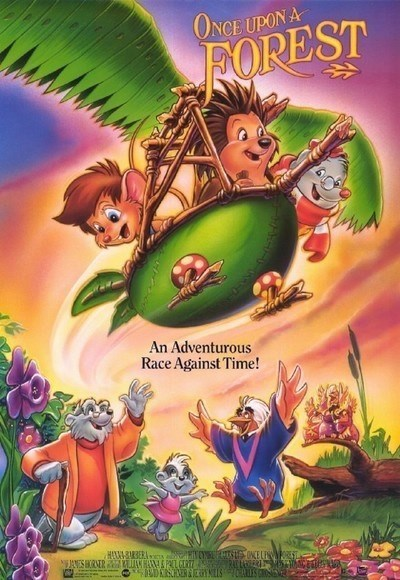 Animated cartoon - ONCE UPON A FOREST An Adventurous Race Against Time!