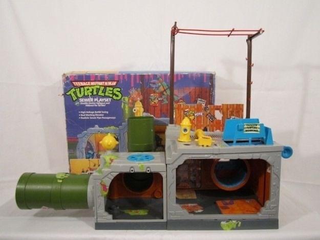 Toy - TEENAGE MUTANTAN TURTZES SEWER PLAYSET VOTE
