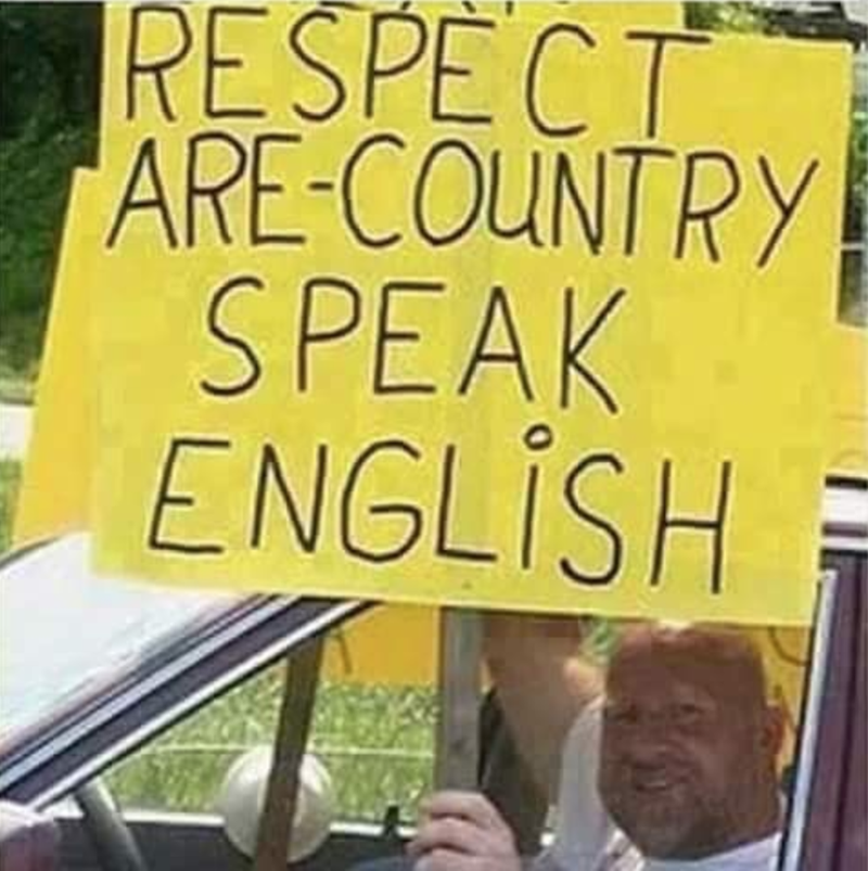 Yellow - RESPECT ARE-COUNTRY SPEAK ENGLİSH