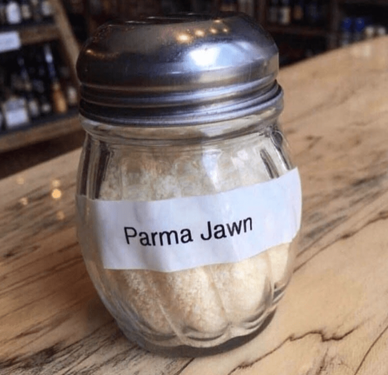 Mason jar - Parma Jawn