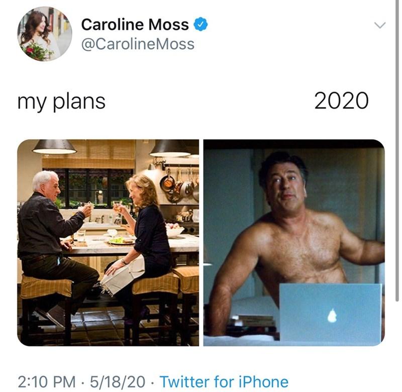 Technology - Caroline Moss @CarolineMoss my plans 2020 2:10 PM · 5/18/20 · Twitter for iPhone
