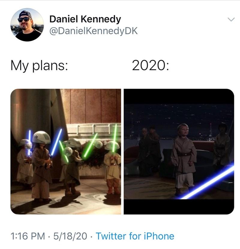 Adaptation - Daniel Kennedy @DanielKennedyDK My plans: 2020: 1:16 PM · 5/18/20 · Twitter for iPhone