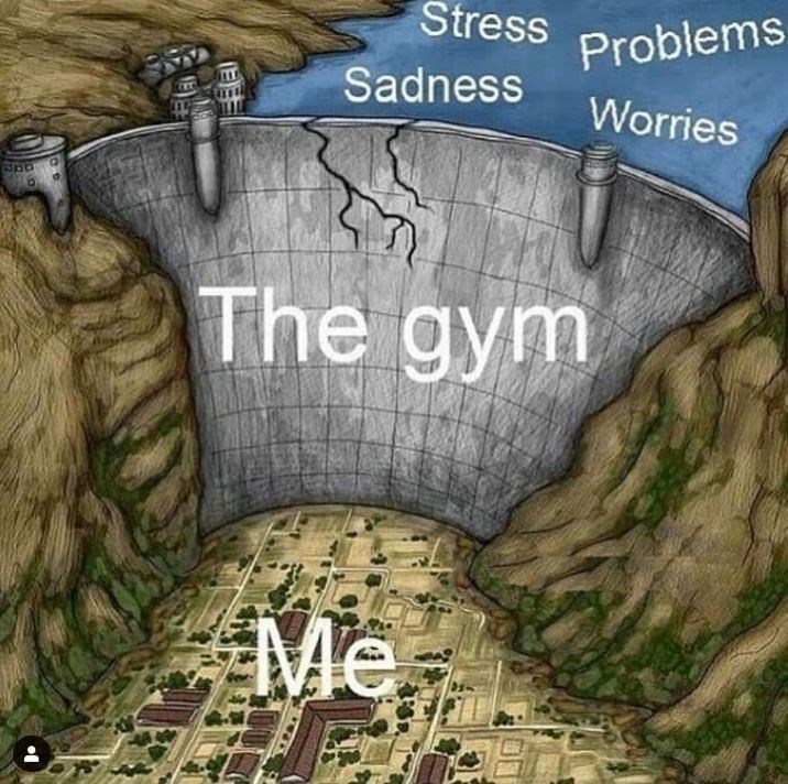Adventure game - Stress Problems Sadness Worries The gym Me (EE