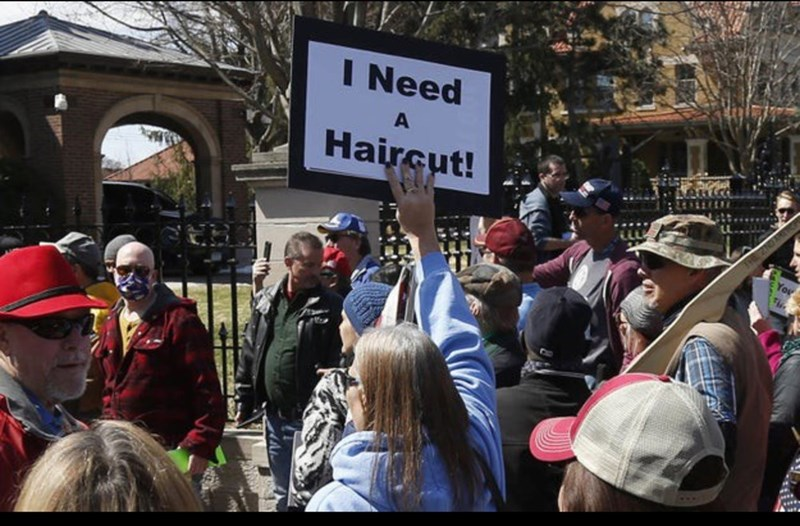 Protest - I Need A Haircut!