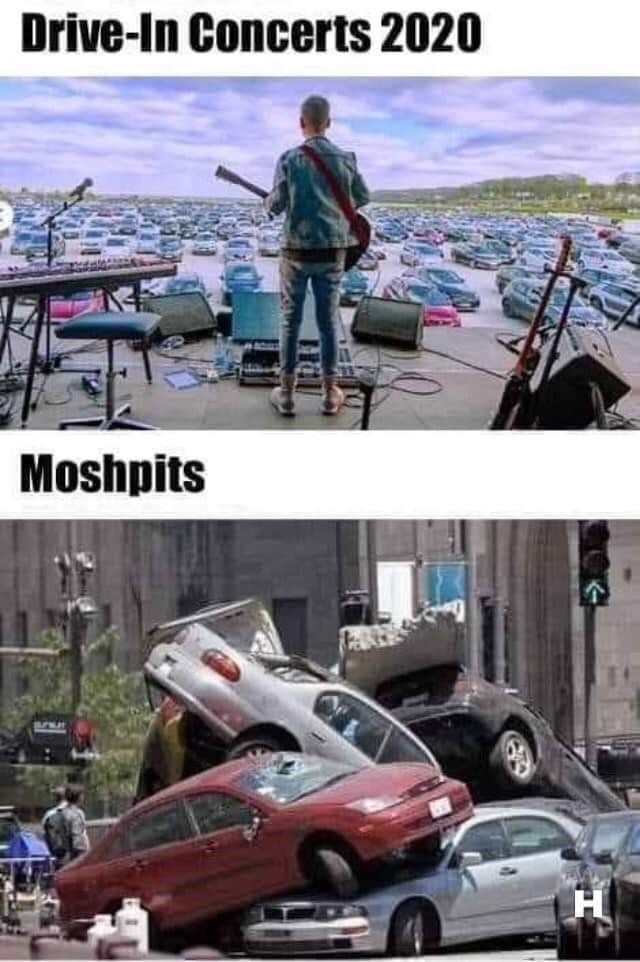 Vehicle - Drive-In Concerts 2020 Moshpits