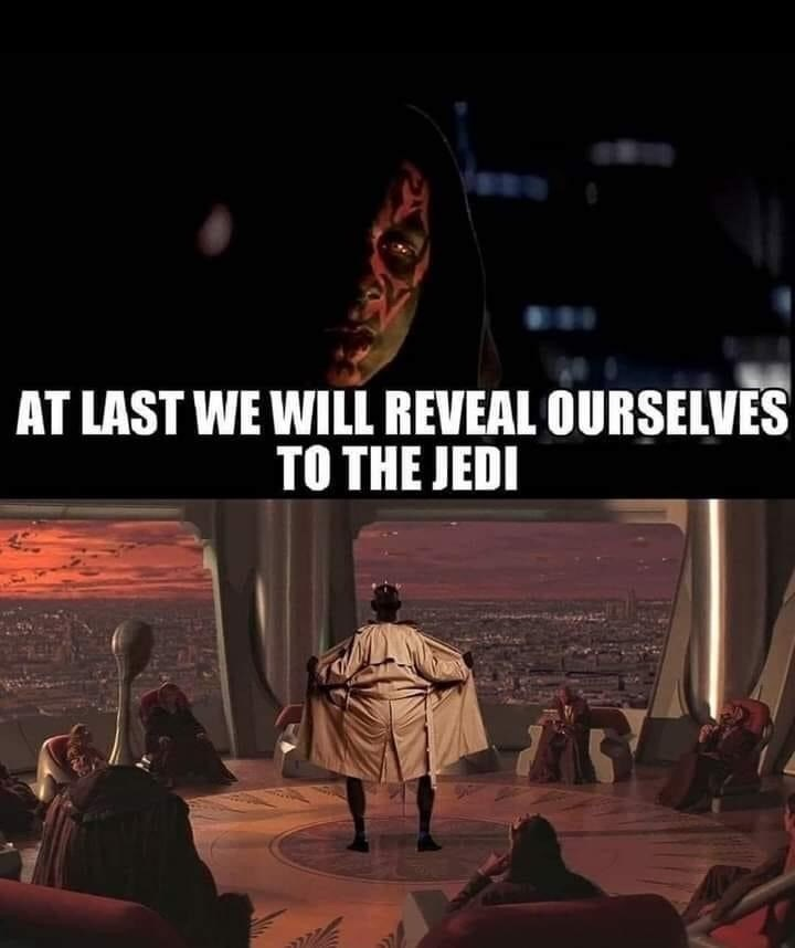 Font - AT LAST WE WILL REVEAL OURSELVES TO THE JEDI