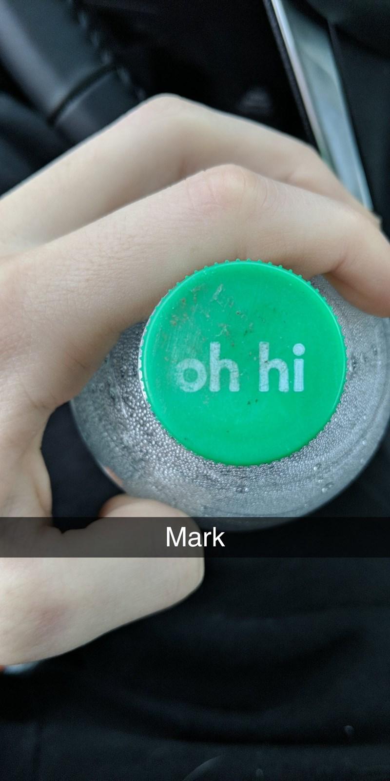 Green - oh hi Mark