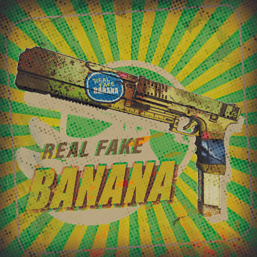 Green - KEAL FAKE SAANA REAL FAKE BANANA