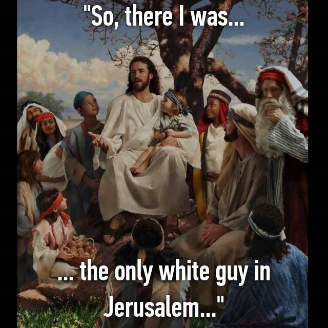"""People - """"So, there I was... the only white guy in Jerusalem."""" II"""