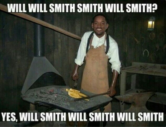 Photo caption - WILL WILL SMITH SMITH WILL SMITH? YES, WILL SMITH WILL SMITH WILL SMITH