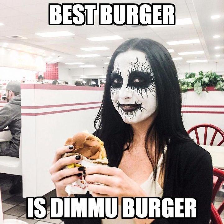 Head - BEST BURGER IS DIMMU BURGER