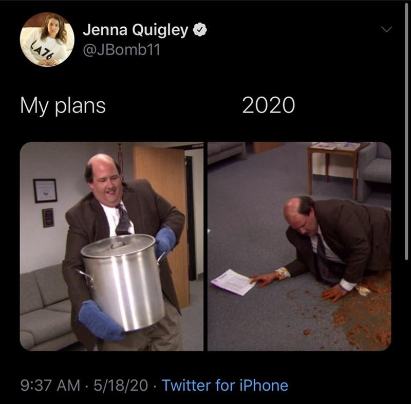 Photo caption - Jenna Quigley O @JBomb11 LA76 2020 My plans 9:37 AM · 5/18/20 · Twitter for iPhone